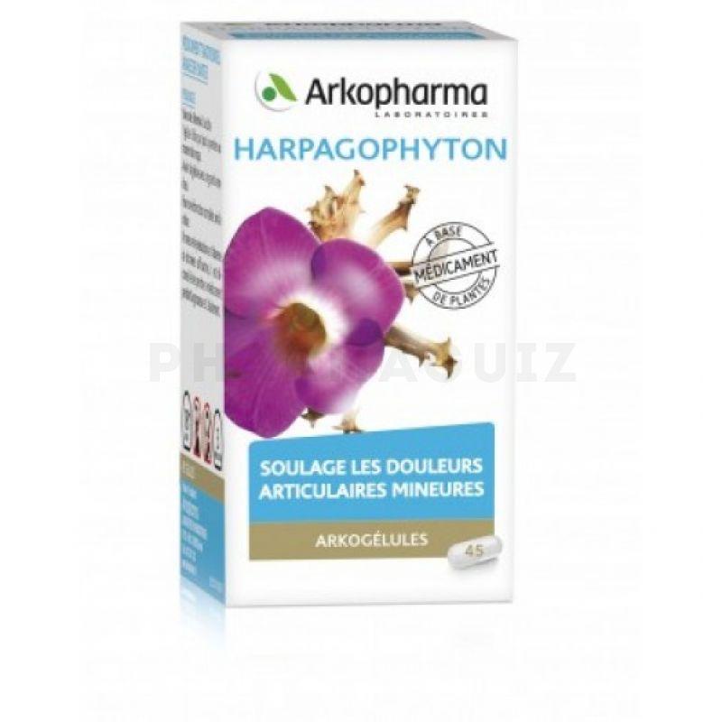 homéopathie harpagophytum