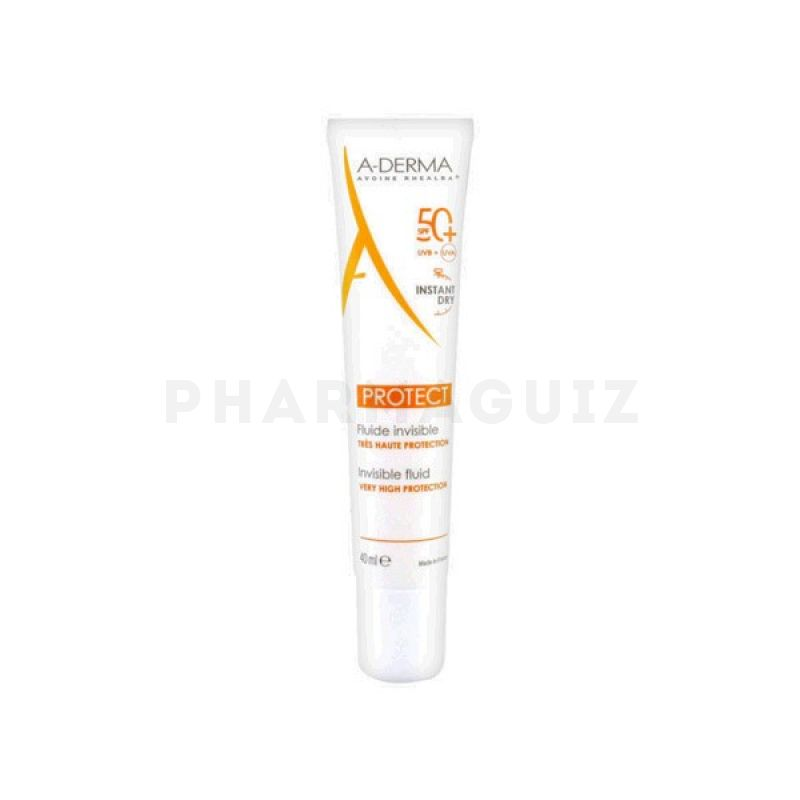Aderma Protect Fluide Invisible Très Haute Protection SPF50+ 40ml