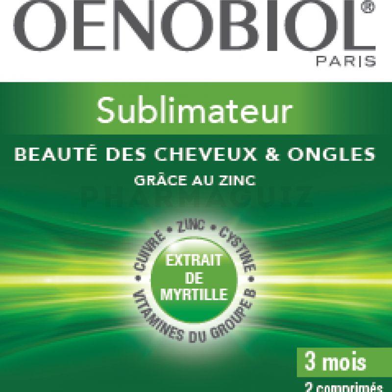 Oenobiol Capillaire Sublimateur 180 Comprimes Cheveux Ongles