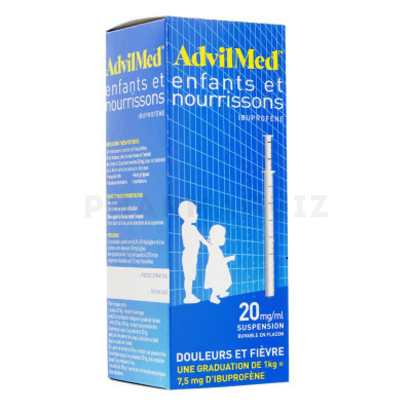 Advil enfants et nourrissons suspension buvable 200 ml