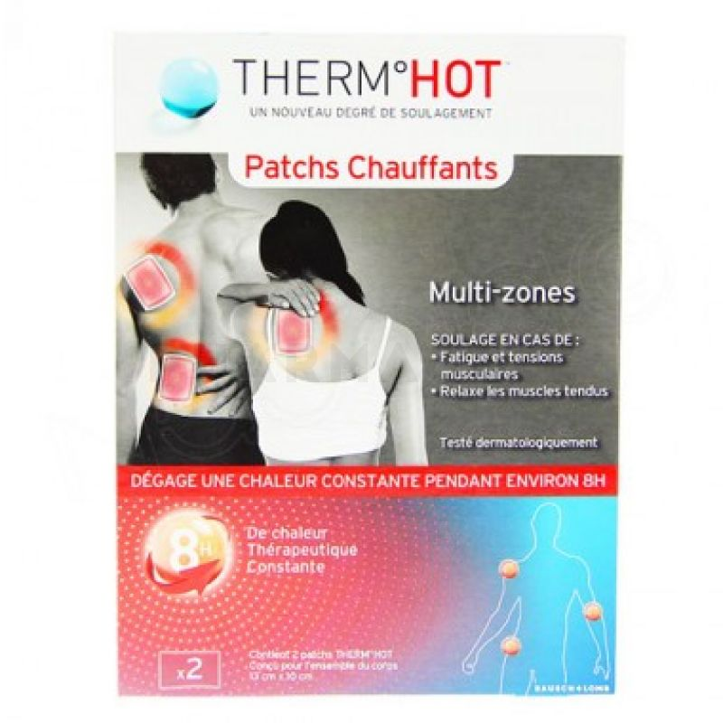 Therm-hot patch chauffant multi zones 2 patchs