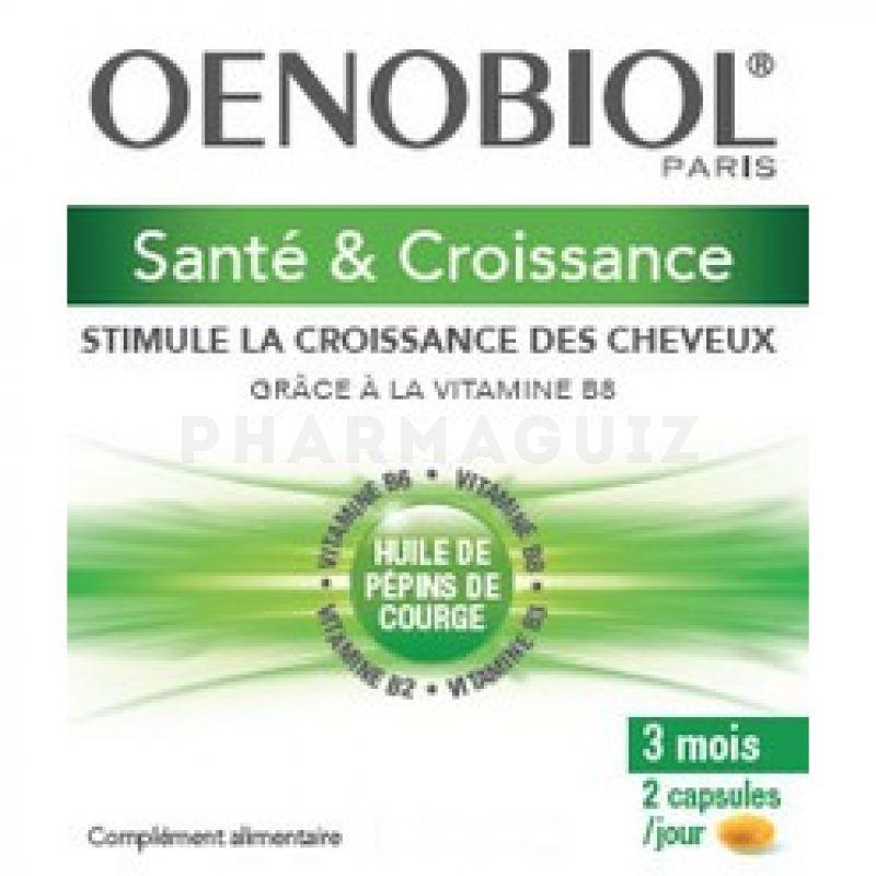Oenobiol Capillaire Sante Croissance 180 Capsules Pilulier