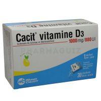 Cacit Vitamine D3 granulés 30 sachets 9cd8667ac0a