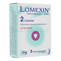 Lomexin 600 mg 2 capsules vaginales a4207e81076