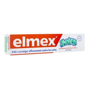 Elmex Junior Dentifrice 6-12ans (tube 75ml)