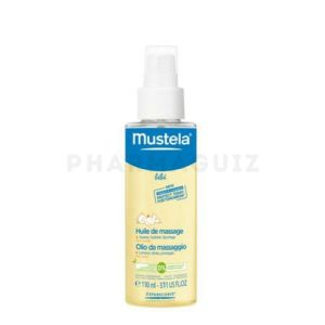 Mustela bébé huile de massage flacon spray 110 ml