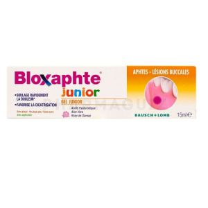 Bloxaphte Gel Buccal Junior 15ml