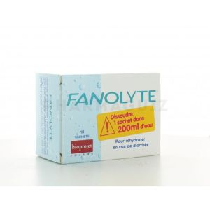 Fanolyte solution de réhydratation bte de 10