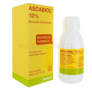 Ascabiol 10% émulsion 125 m