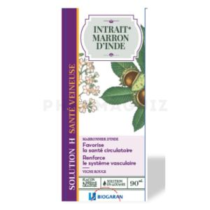 INTRAIT MARRON D'INDE – SOLUTION H – SANTE VEINEUSE – 90ML