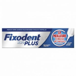 Fixodent pro anti-particules 40g