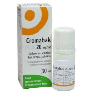 Cromabak collyre 10 ml