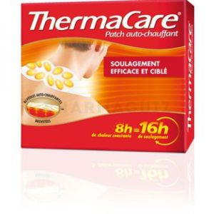 Thermacare Patch Nuque, Epaule et Poignet pack de 6