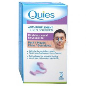 Quies Anti-ronflement Dilatateur Nasal