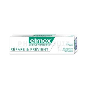 Elmex Sensitive Repare Et Previent 75ml
