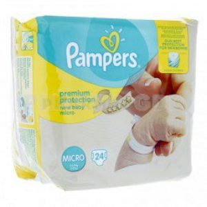 Pampers New Baby Micro 24 couches