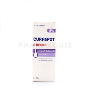 Curaspot à rincer 5% gel 50 g
