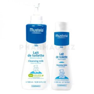 Mustela lait toilet.750ml+200mloffert