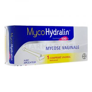 MycoHydralin 500 mg 1 comprimé vaginal