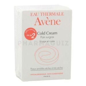 Avène Cold Cream pain surgras 2 x 100 g