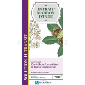 INTRAIT MARRON D'INDE – SOLUTION H – TRANSIT – 200 ML