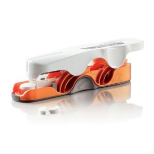 Pilbox Cutter Coupe-comprimes Orange