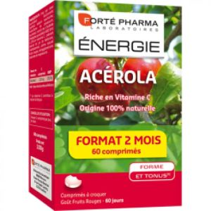 Energie Acerola Fruits Rouges (60cprs A Croquer)