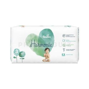 Pampers Harmonie Couche T3 Jumbo Paquet/46