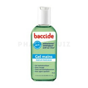 Baccide gel mains 75ml fraicheur