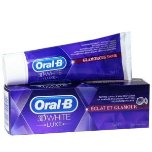 Dentifrice 3D White Luxe Eclat & Glamour 75ml