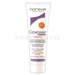 Noreva Cicadiane Protect Crème Réparatrice Photo-Protectrice SPF50 40ml