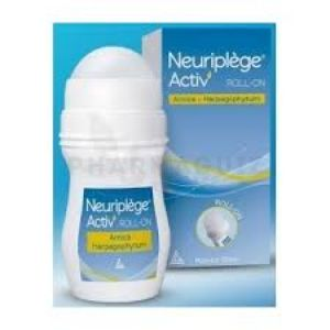 Neuriplège activ roll-on arnica harpagophytum 40ml