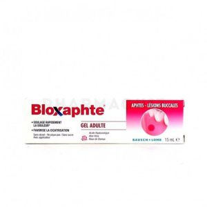 Bloxaphte Adulte Gel 15ml