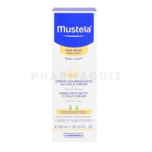 Mustela Creme Nourrissante Cold Cream 40ml