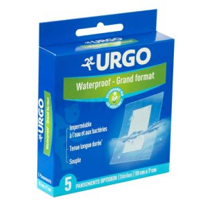 Urgo Pansement Grand Format Waterproof Bte 5