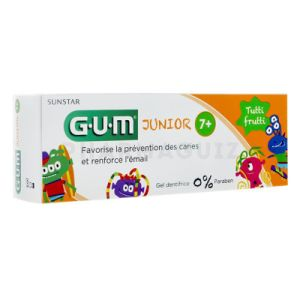 Gum Junior Gel dentifrice tutti frutti 50 ml