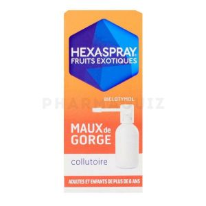 Hexaspray collutoire fruits exotiques 30 g