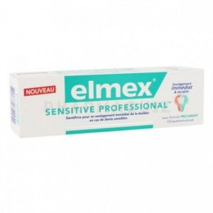Elmex dentifrice sensitive 75 ml