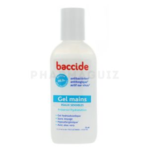 Baccide Gel Mains Désinf Psens Fl/75ml