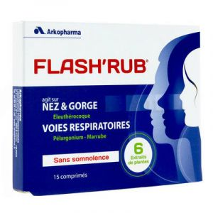 Flash'rub 15 comprimés