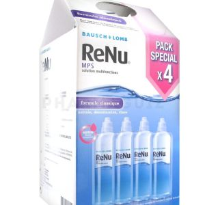 Renu kit solution lentilles 4 x 360 ml