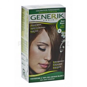 GENERIK- Kit Coloration blond moyen 6
