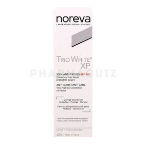 Noreva Trio White XP Soin Anti-Taches SPF 50+ 40ml