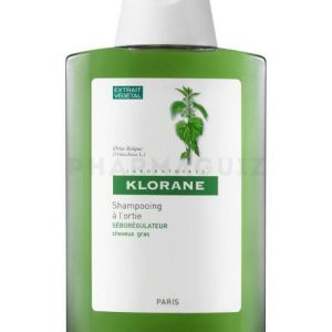 Klorane Shampoing sebo-regulateur Ortie blanche 400ml