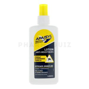 Apaisyl Repulsif Moustiques Spray 140ml