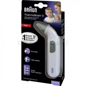 Braun Thermomètre Auriculaire ThermoScan 3 IRT3030