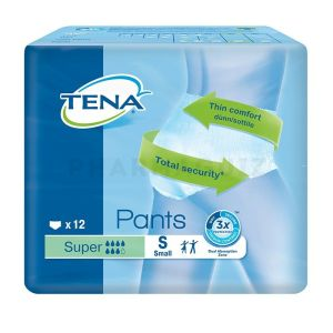TENA PANTS SUPER SMALL Sac de 12 unités