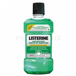 Listerine Protection Dents Gencives 500ml (-50%)