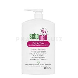 Sebamed Everyday Brillance Extra-Douceur Shampooing Usage Fréquent 1000 ml