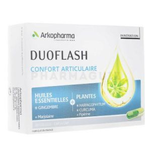 Arkopharma duoflash confort articulaire 20 gélules